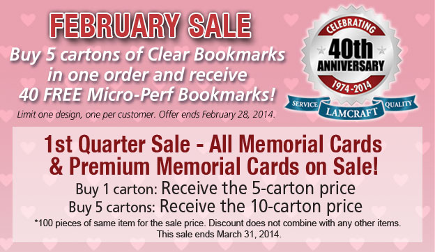 Love Sales? Check out our February deal!