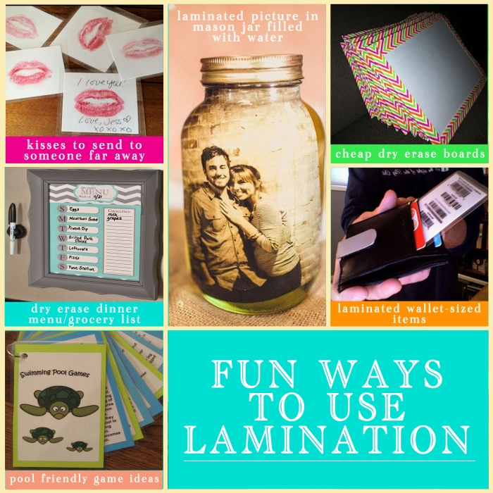 Fun Ways to Use Lamination