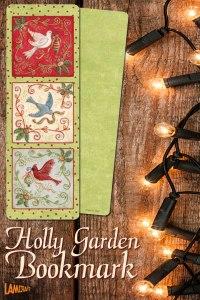 Holly-Garden-Bookmark