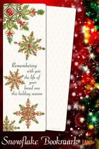 Snowflake-Bookmark