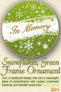 Snowflakes-Green-Frame-Ornament