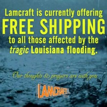 flood victim free shipping post